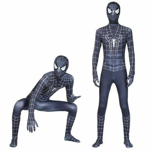 All Spider-Man Halloween Zentai Jumpsuits men girls
