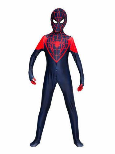 All Spider-Man Halloween Zentai Jumpsuits For men & girls