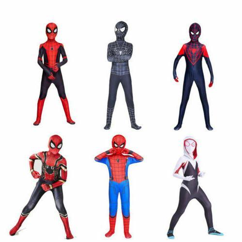 all spider man cosplay costume halloween zentai