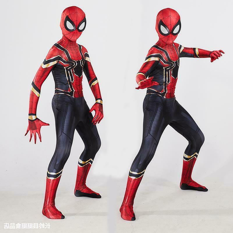 All Spider-Man Halloween Jumpsuits men & girls
