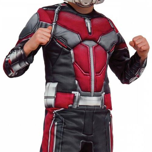 Ant-Man Costume Marvel Superhero Fancy Dress