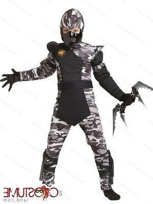 arctic ninja forces costume child halloween force