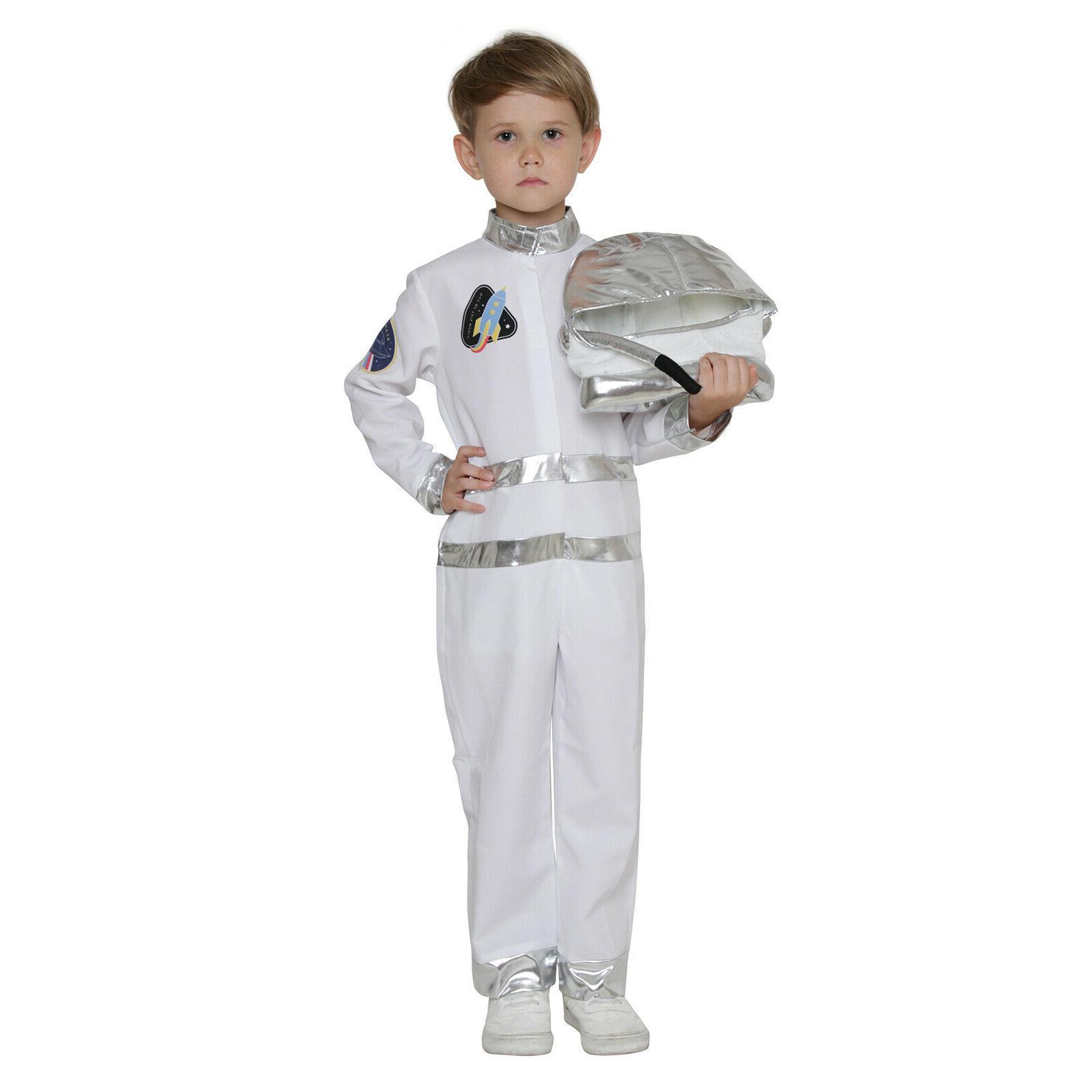 Astronaut Costume Kids Spaceman Halloween Fancy Party