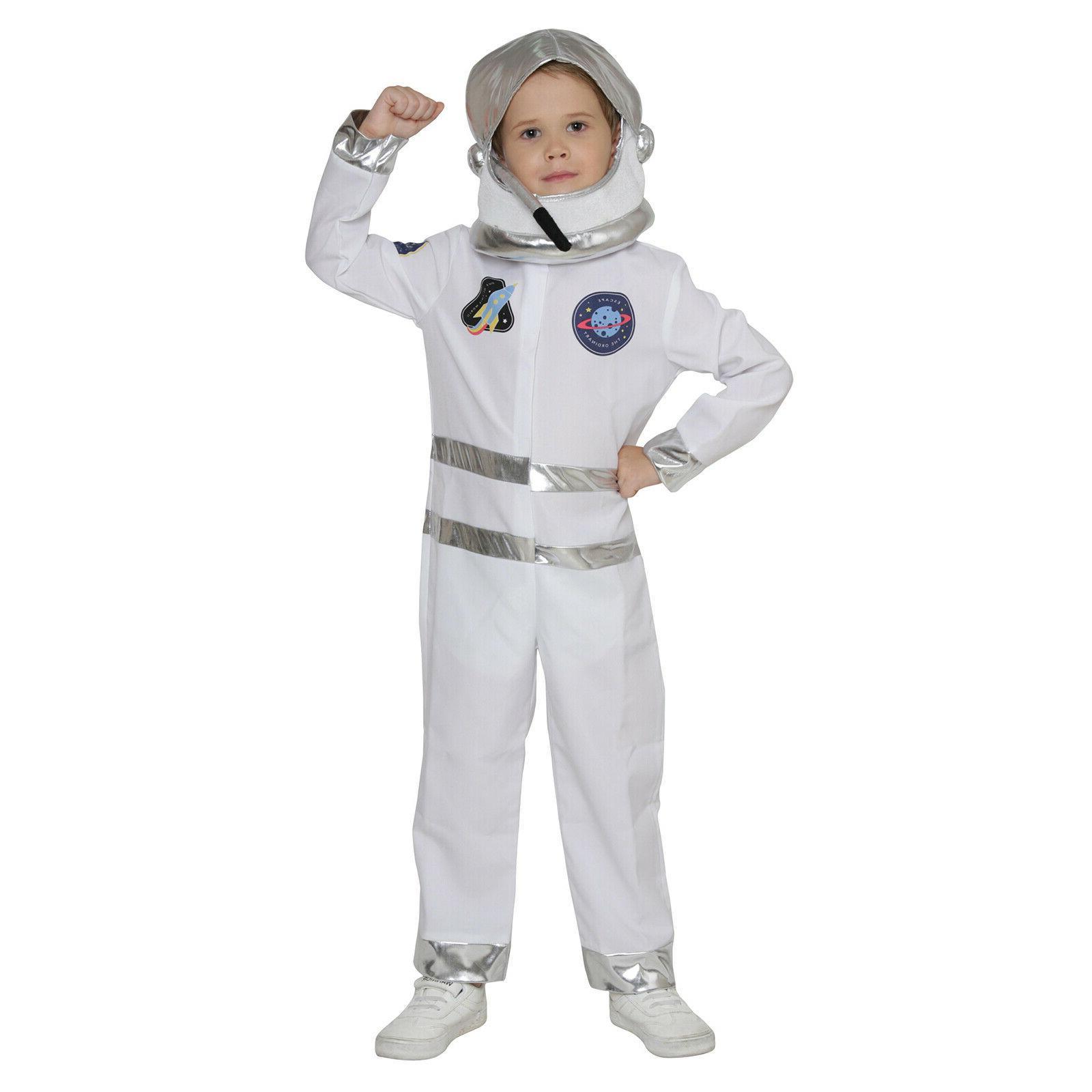 astronaut costume kids nasa spaceman halloween fancy