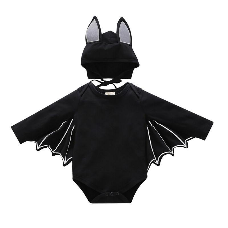 baby toddler kids halloween bat costume cosplay