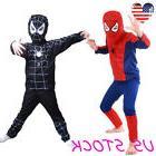 Batman Spiderman Muscle Children Boy Kids Halloween Costume
