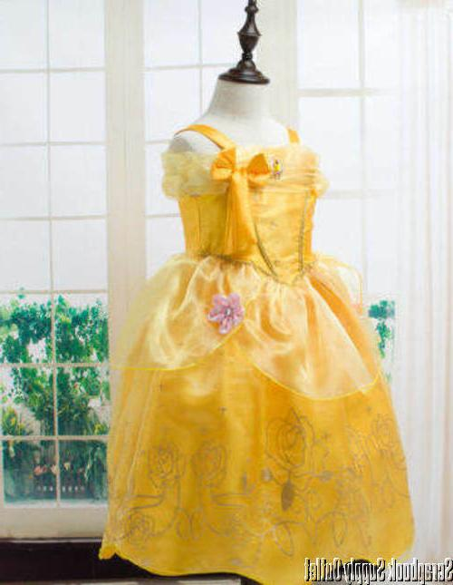 Belle Disney Dress Beauty Beast FREE SHP