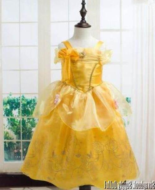 belle princess disney inspired dress costume child