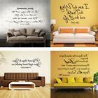 Bible Verse Wall Decals Christian Quote Vinyl Wall Art Stick