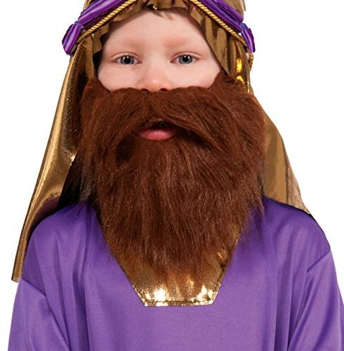 biblical times wiseman costume beard