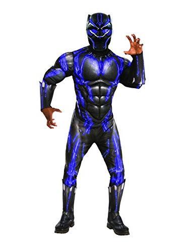 black panther light battle mask