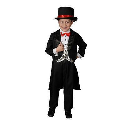 black tuxedo kids costume by