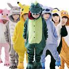 Boys Girls Pajamas Children Flannel Warm Animal Stitch Totor