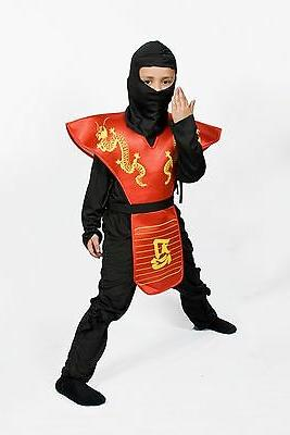 boys ninja costume halloween kids child dragon