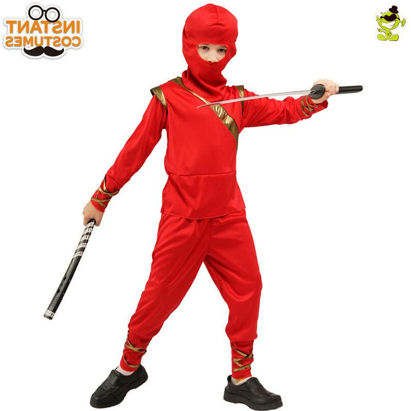 Boys Red Kids Masquerade Decoration Fancy