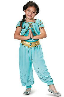 Brand New Disney Aladdin Princess Jasmine Prestige Child Cos