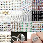 Bulk Wholesale Lots Mixed Style Silver Women Kids Rings Cost