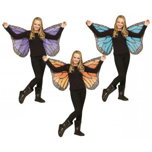 Butterfly Wings Kids Soft Fabric Halloween Costume Fancy Dre