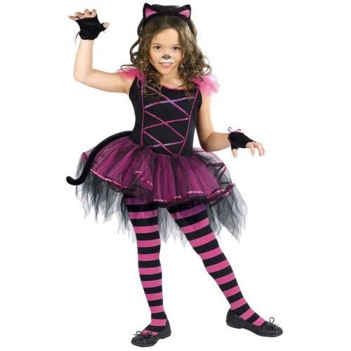 Cheshire Cat Costume Kids Girls Halloween Fancy Dress