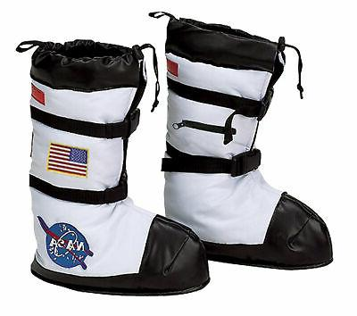 CHILD ASTRONAUT SPACE NASA BOOT COVERS COSTUME ACCESSORY AR5