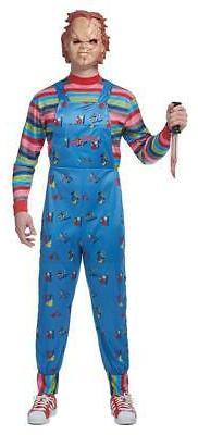child s play chucky men s costume