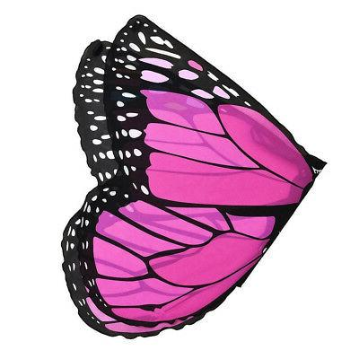 Children Kids Girls Pashmina Butterfly Costume Accessories XI