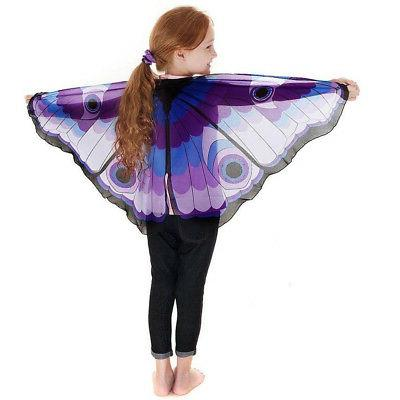 Children Kids Pashmina Butterfly Shape Accessories XI
