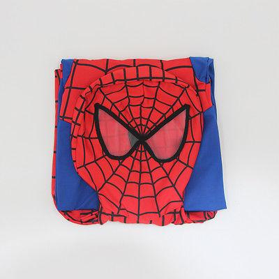 Christmas Spiderman Costume Kids Superhero Cosplay Bodysuit