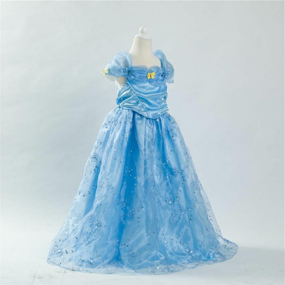 Cinderella inspired Princess FREE Child Toddler k19