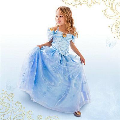 cinderella disney inspired dress princess costume new