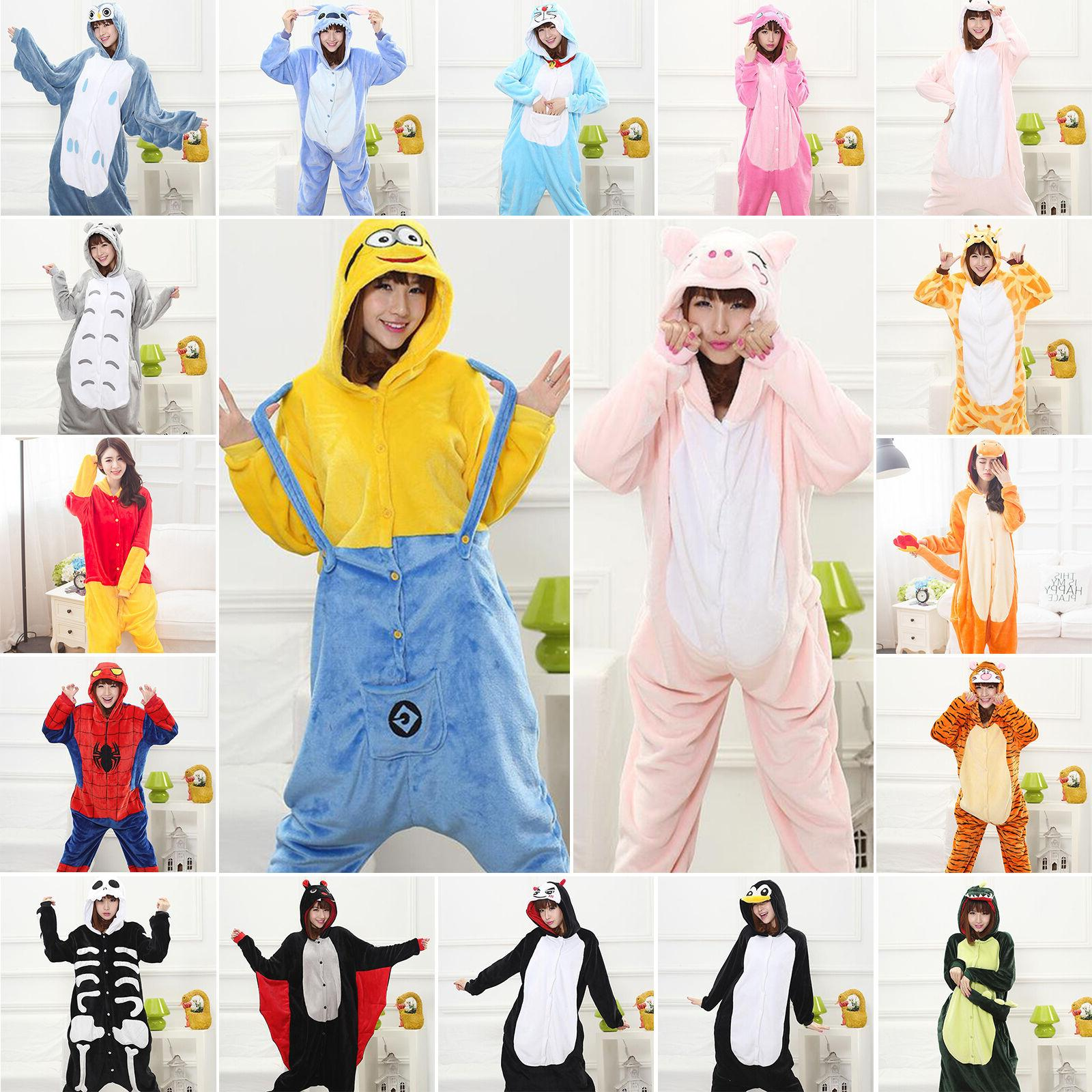 hot kids adults animal kigurumi pajamas cosplay