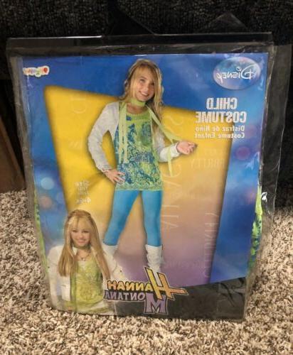 costume disney hannah montana child costume size