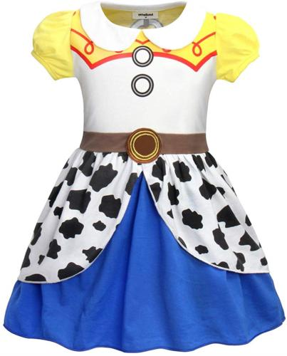 AmzBarley Costume for Little Girls Fancy Party Wild West Cos