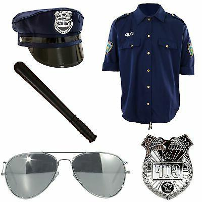 deluxe police officer costume accessories adult standard