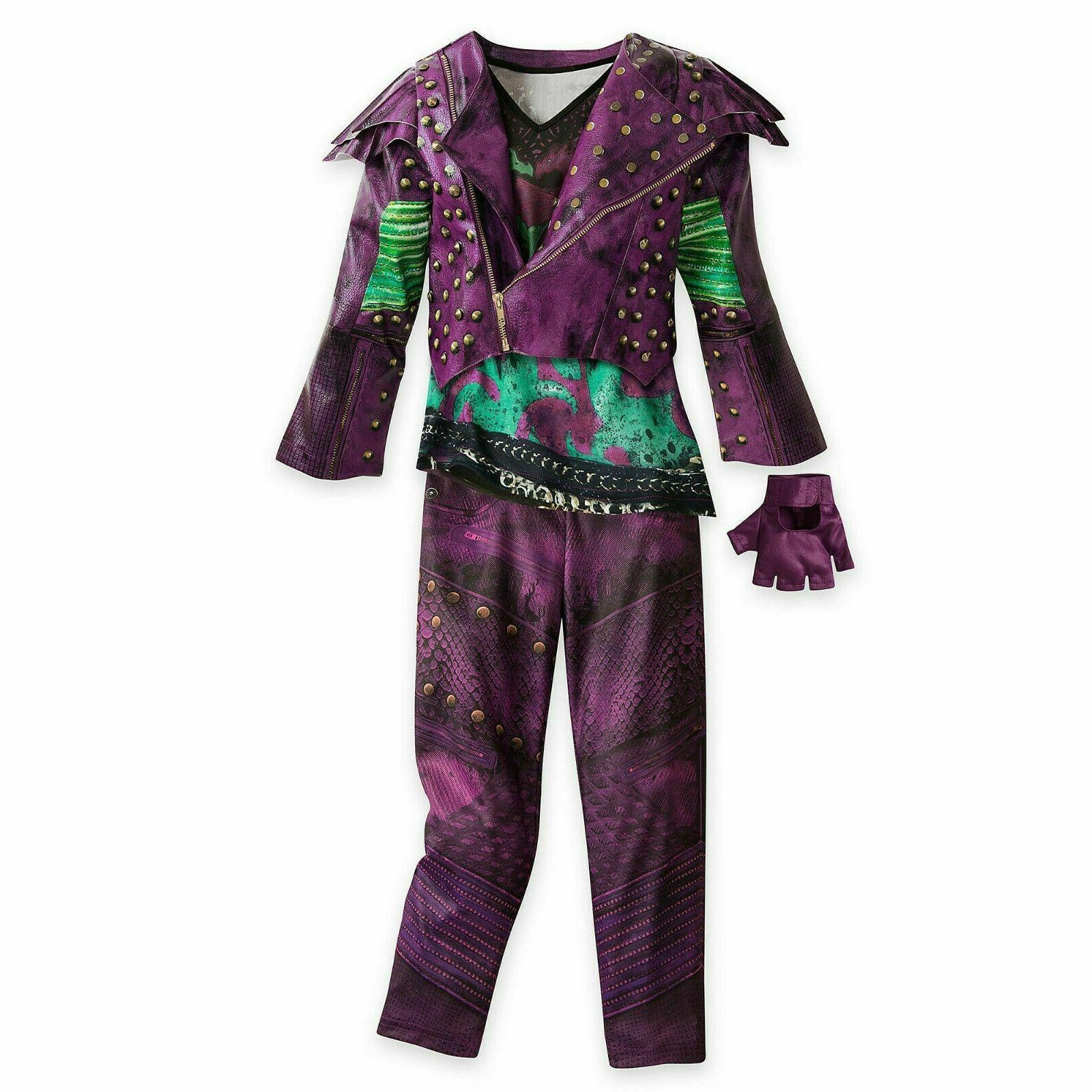 descendants 2 mal costume for kids girls