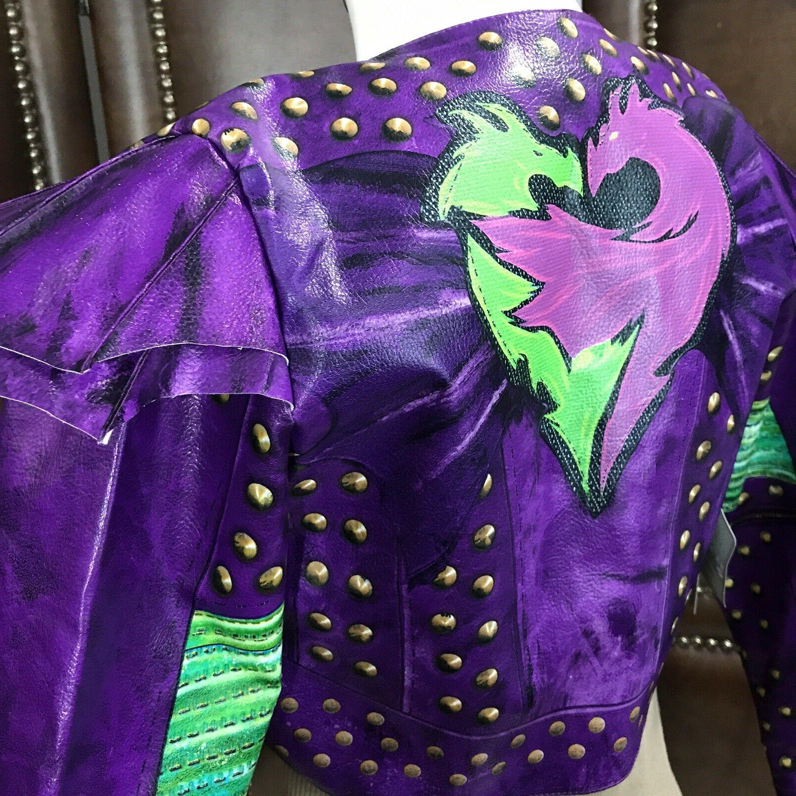 Disney descendants Kids costume Jacket Top Studded Child