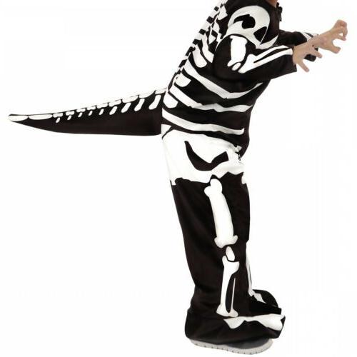 Dinosaur Kids Skeleton Fossil Dress