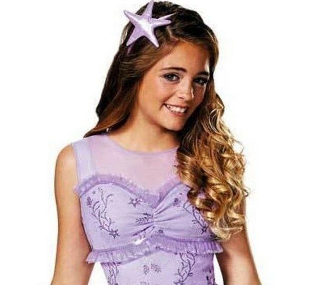 Disney Ariel Princess Mermaid Up Child Halloween 7-8
