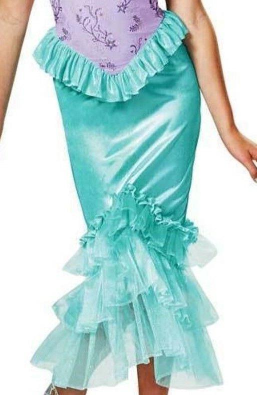 Disney Ariel Mermaid Dress Up Child Halloween Costume 7-8