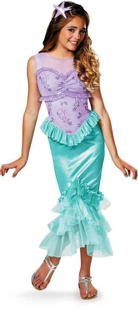 disney ariel princess little mermaid dress up