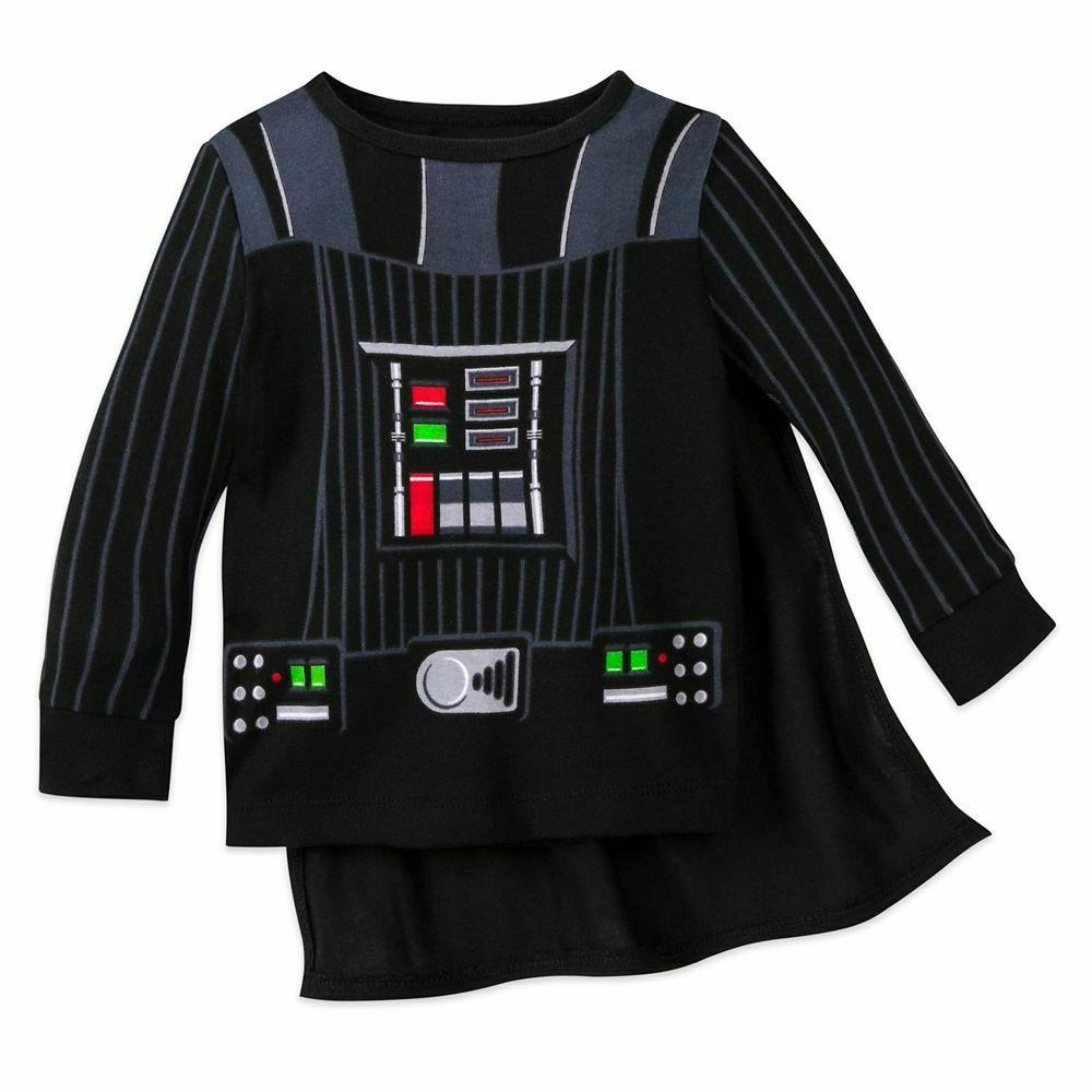 disney kids Darth Vader Costume PJ PALS for ages 12 to 18 mo