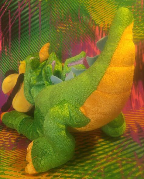 """Disney Nice Dog Dragon 15"""" Plush Toy"""