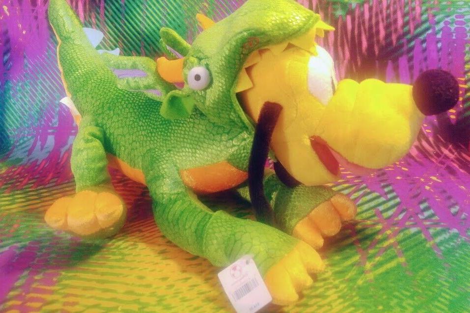 "Disney Store Pluto Dog In Costume 15"" Plush Toy NWT"