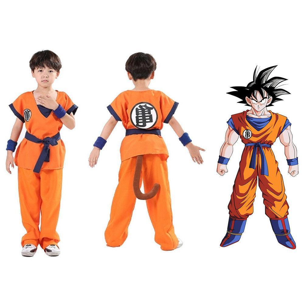 Dragon Ball Saiyan Goku Son Turtle senRu Costume