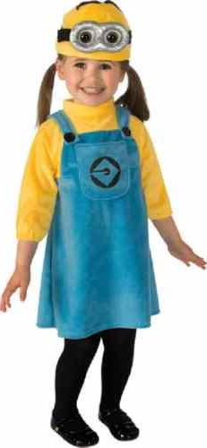 Female Minion Despicable Me Cartoon Fancy Dress Halloween To
