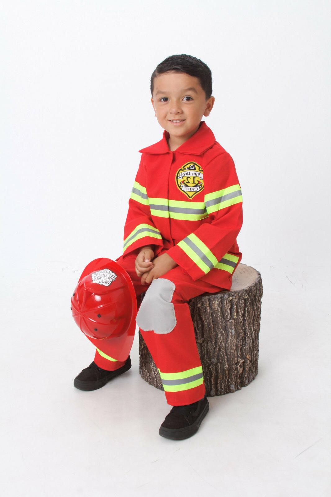 Firefighter Costume up & Hat S 5 7 8