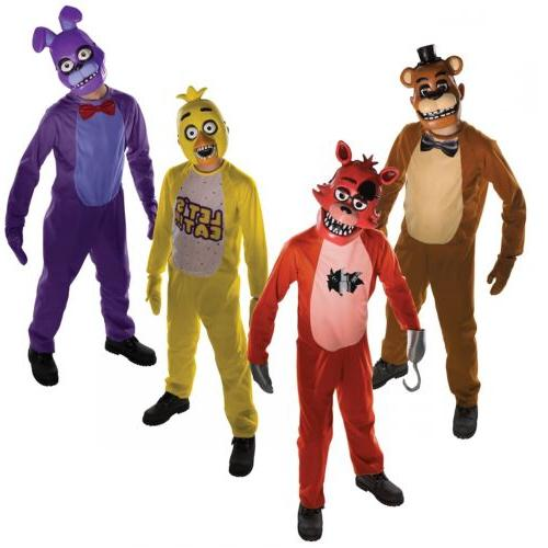 five nights at freddys costume kids scary