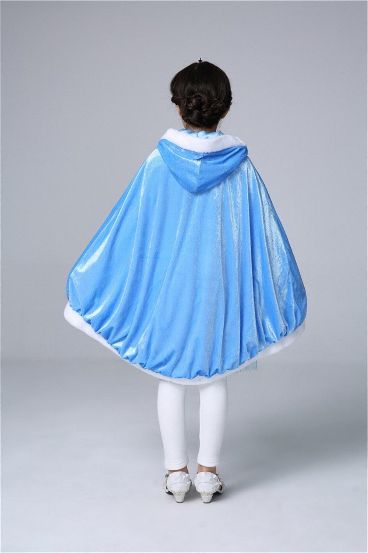 <font><b>Girls</b></font> Children Elsa Christmas Halloween Baby Sofia Princess Mantle