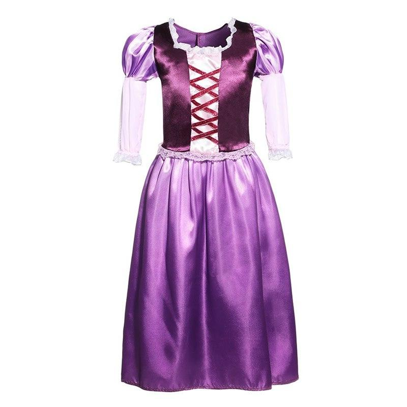 <font><b>Girls</b></font> Rapunzel Tangled <font><b>Kids</b></font> <font><b>Costume</b></font> Cartoon Movie Toddler Purple Ball Party