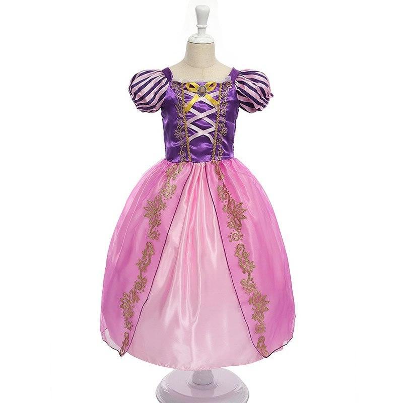 <font><b>Girls</b></font> Dress <font><b>Kids</b></font> Cartoon Movie Toddler Purple Party <font><b>Accessories</b></font>